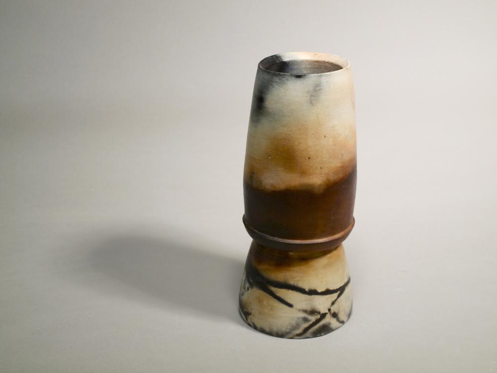 Vase I // Saggar Fired Stoneware