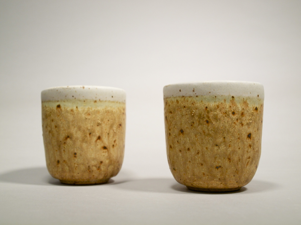 Tumblers // Reduction Fired Stoneware