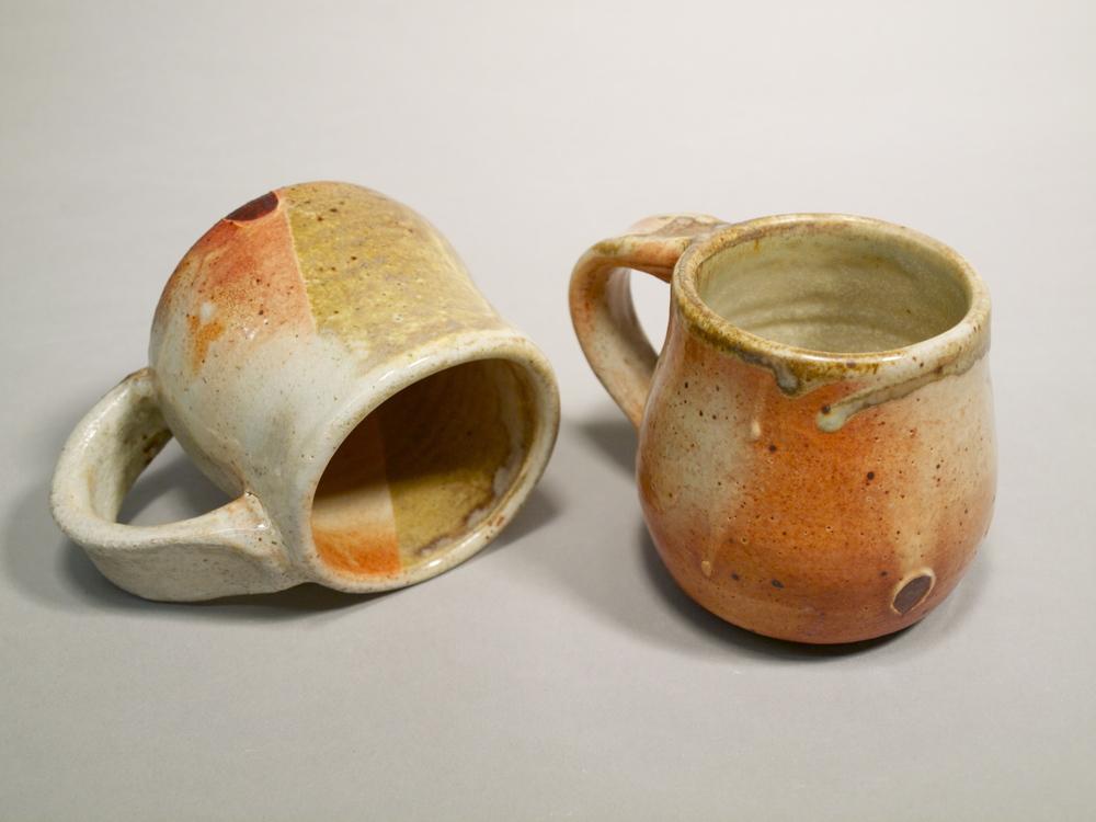 Mugs I // Wood Fired Stoneware