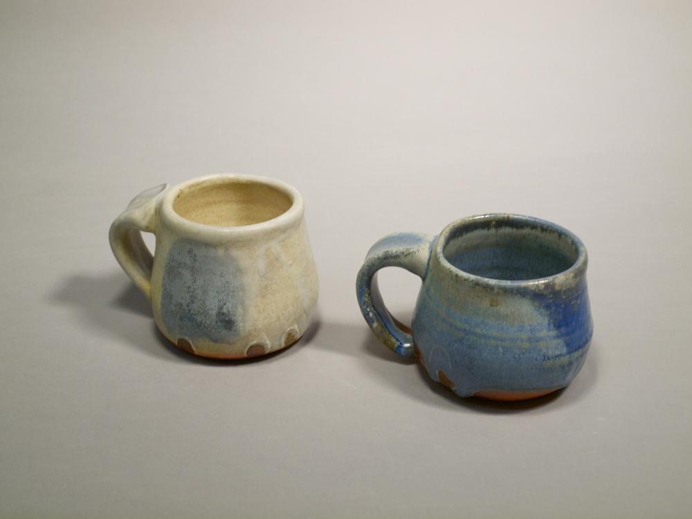 Mugs II // Wood Fired Stoneware