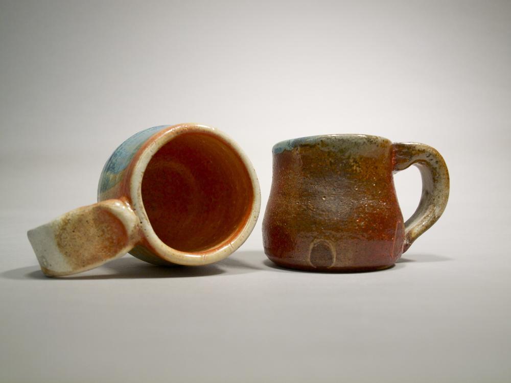 Mugs III // Wood Fired Stoneware