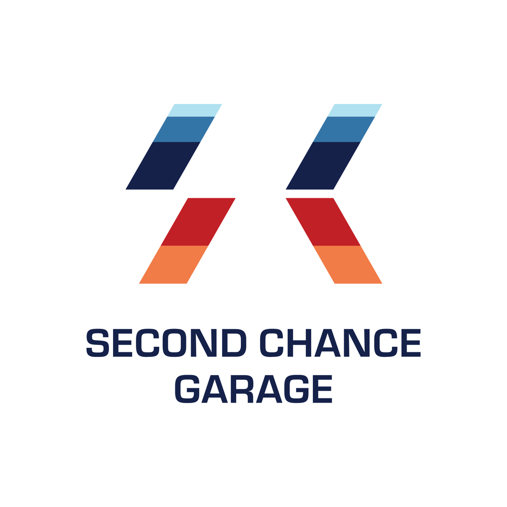 The second logo option for the classic car garage.