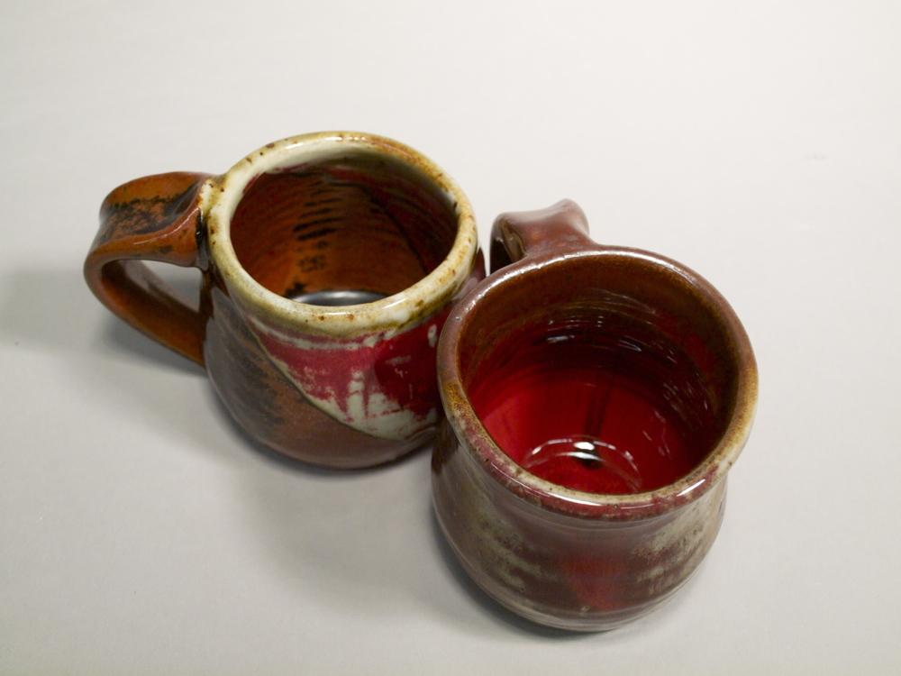 Mugs IV // Reduction Fired Stoneware