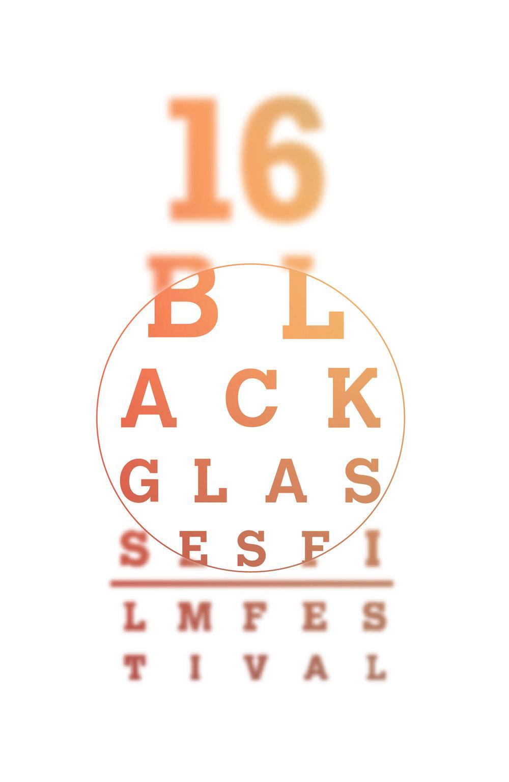 Black Glasses Postcard