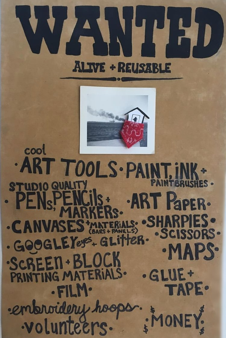 Donate the wasteshed we always accept these materials in good condition art tools art paint ink paintbrushes studio quality pens pencils and markers art paper m4hsunfo