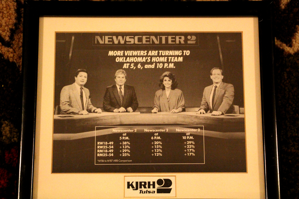 KJRH TV Team mid 1980s