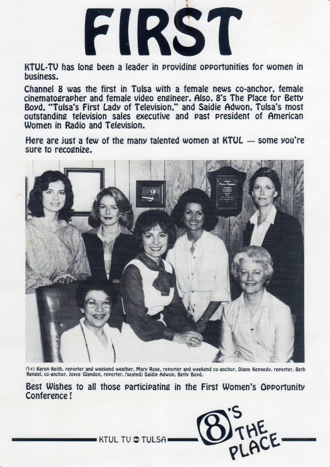 Tulsa's First Ladies of Television