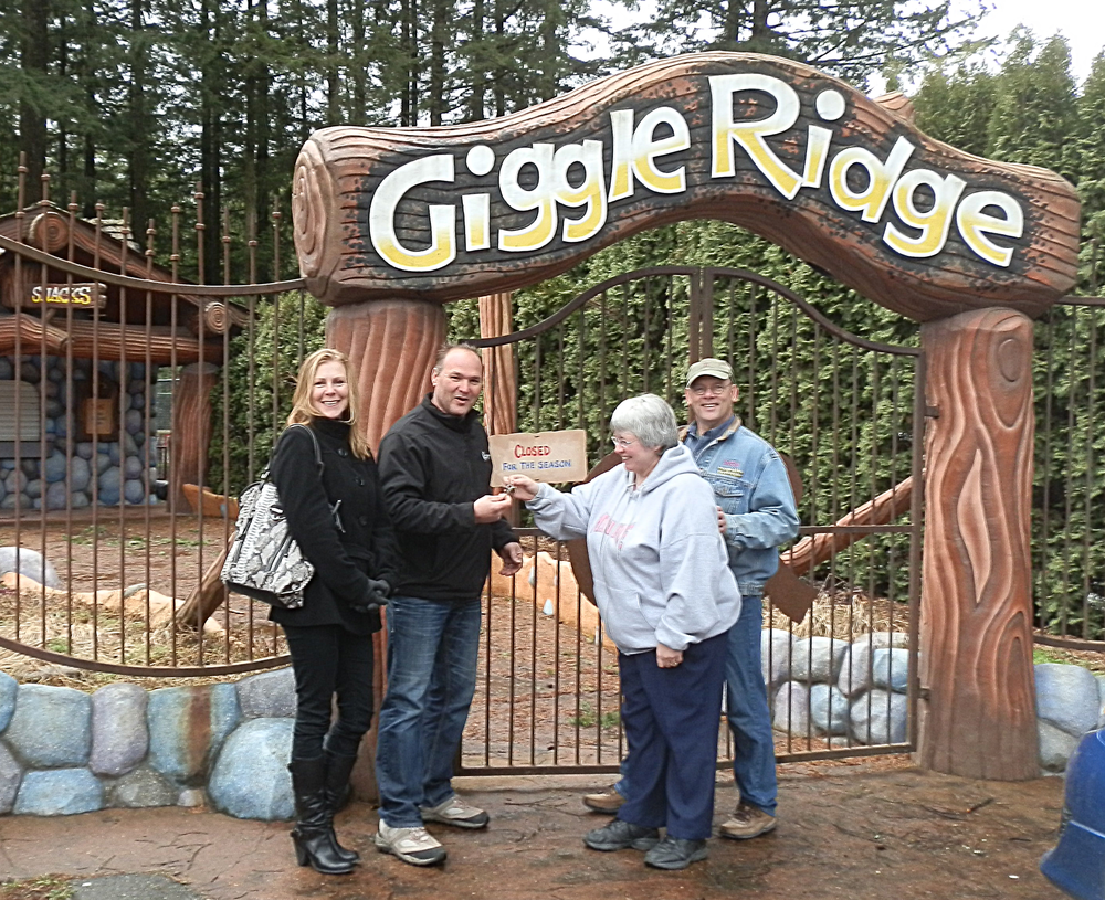 Handing Over the Keys to Giggle Ridge