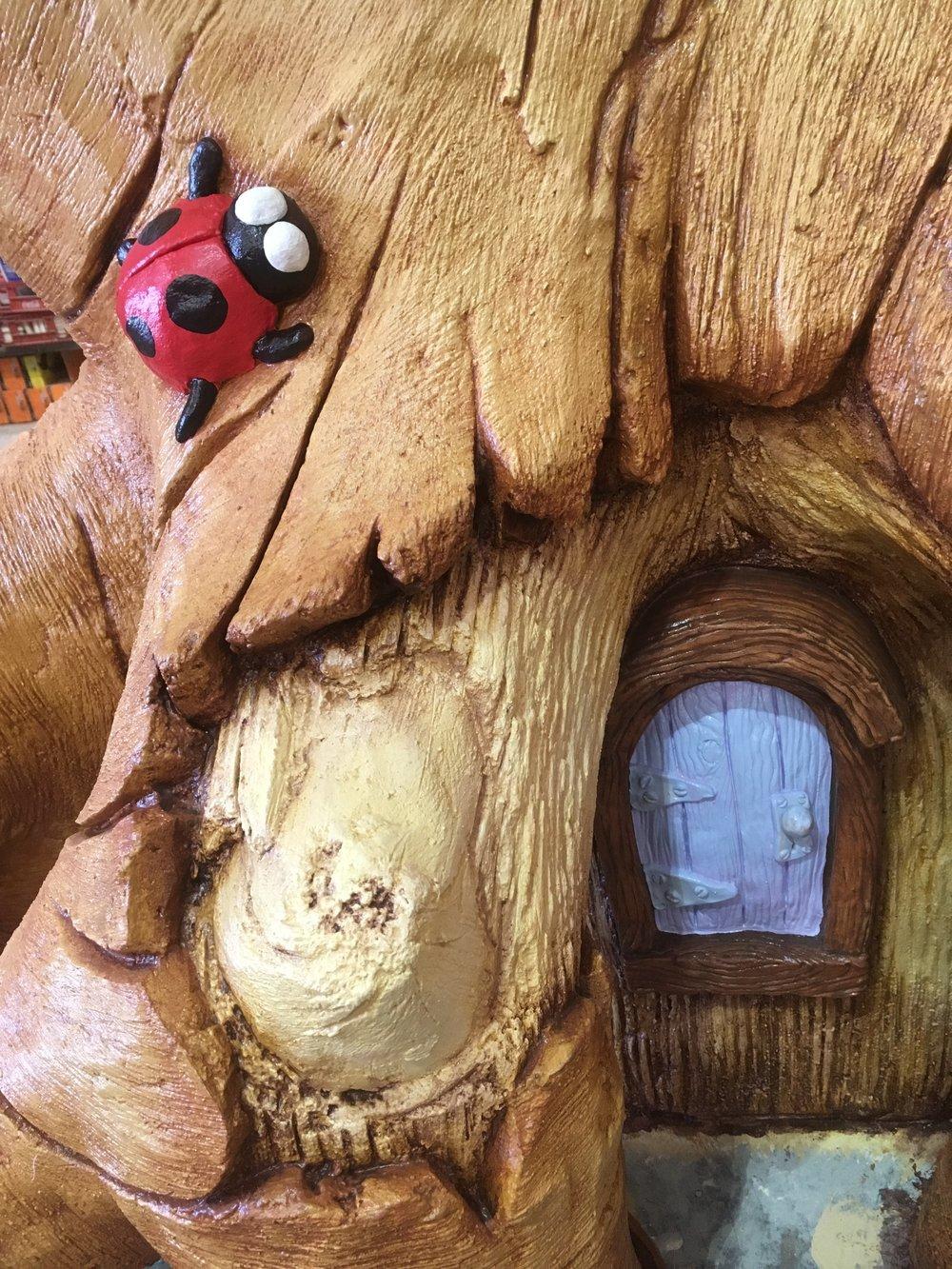 Lady Bug Door