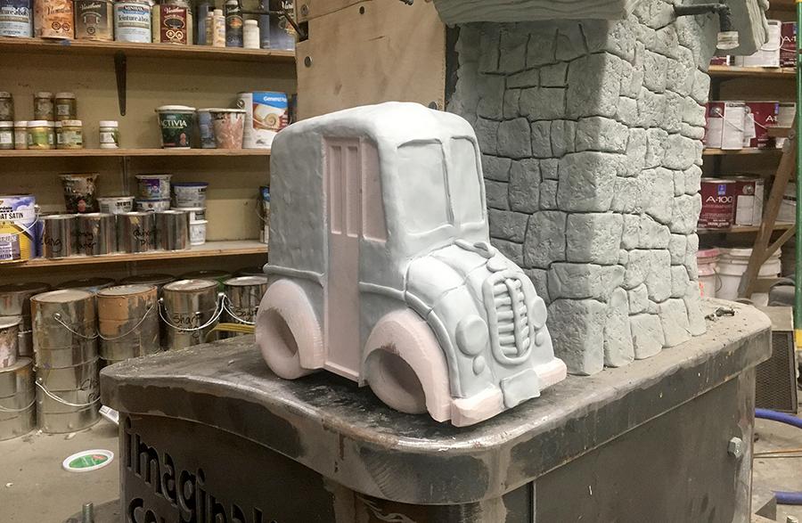 divco truck sculpt in progress.png