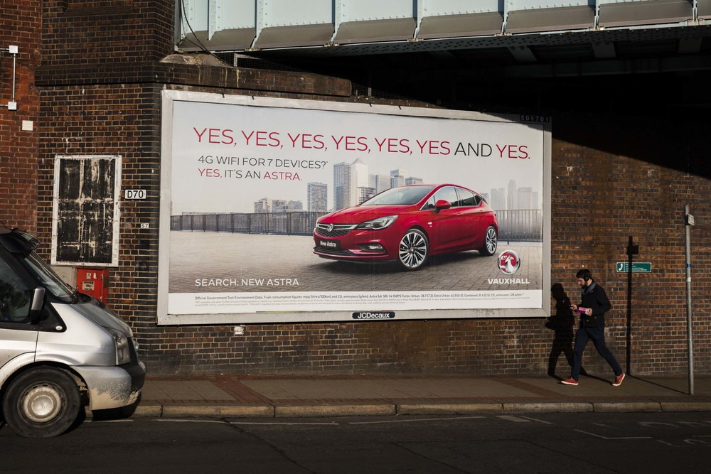 This billboard location is on my usual route to the shops in Chiswick, London. I would constantly be taunted by other photographer's work being displayed here. Finally, I walked past to see some of my own. Such a good day!