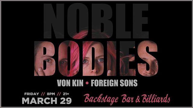 New show!!! #Lasvegas with @noblebodies