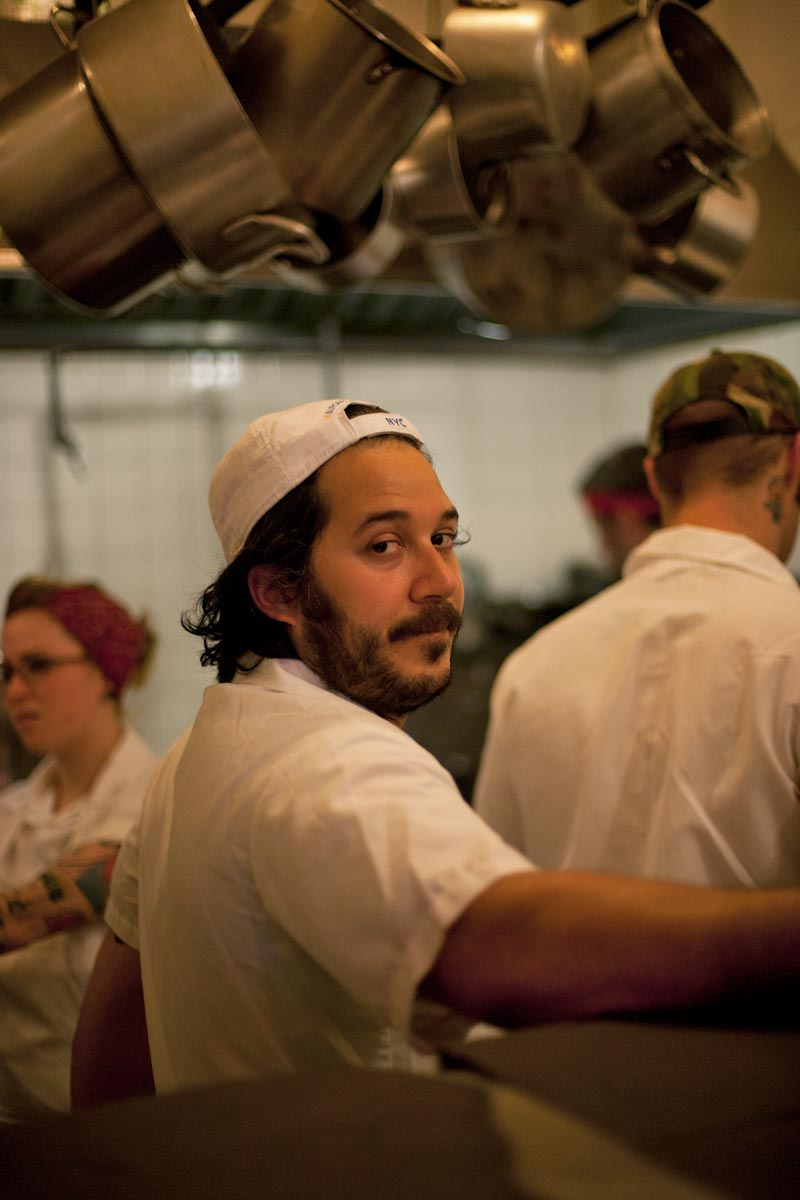 Chef Carlo Mirarchi, Roberta's Pizza, Brooklyn