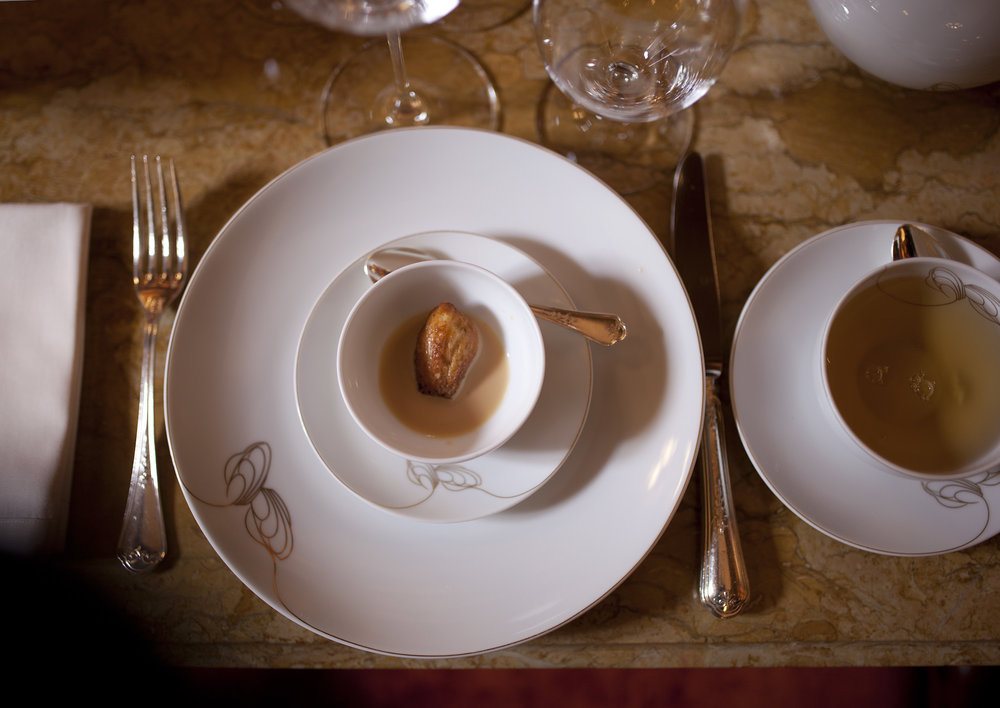 LE RITZ, PARIS: The 'Madeleine', served in the Marcel Proust Tea Room For  Bon Appetit  .        SLIDESHOW
