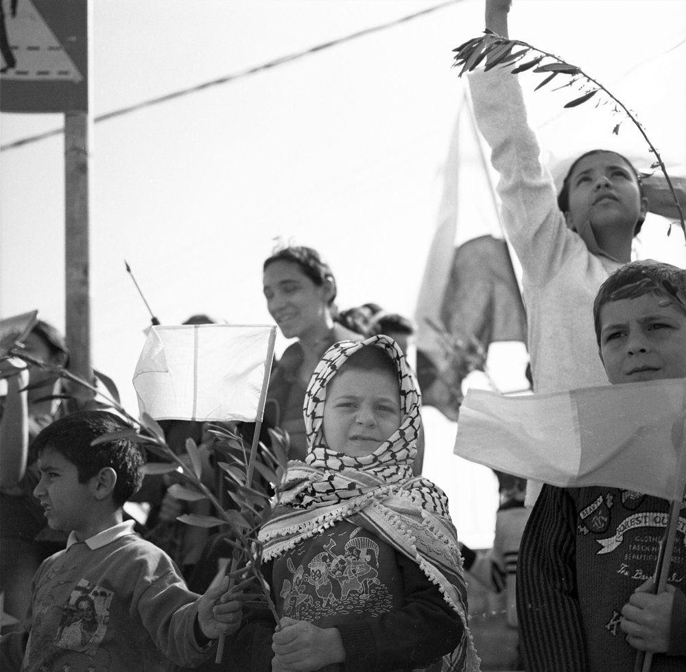 Palm Sunday, Jerusalem, 2002