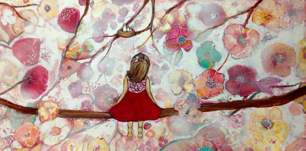 Donation for Michelle Smith, Secret Garden 45cm x 92cm.jpg