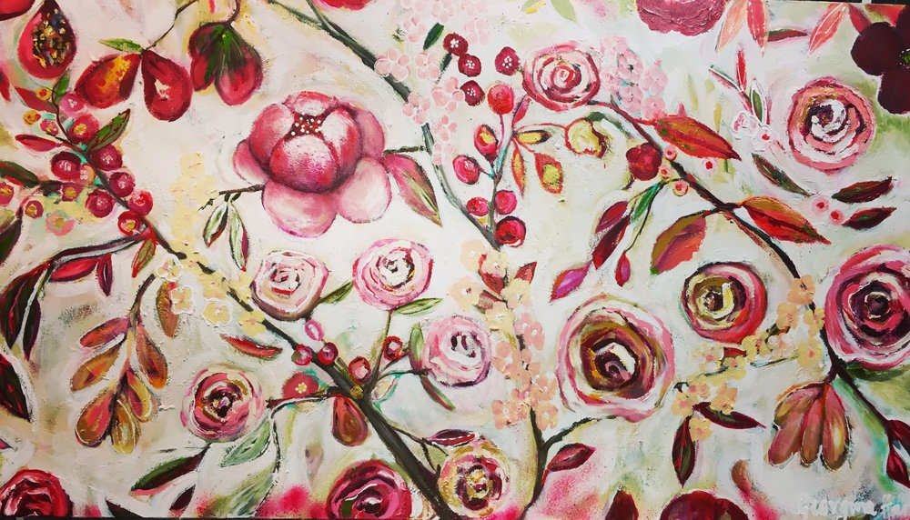In Full Bloom 83cm x 152cm.JPG