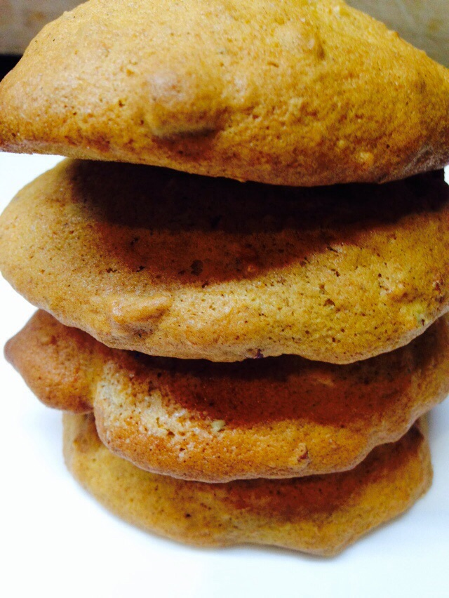 Sweet potato biscuits... new snack for the January menu!
