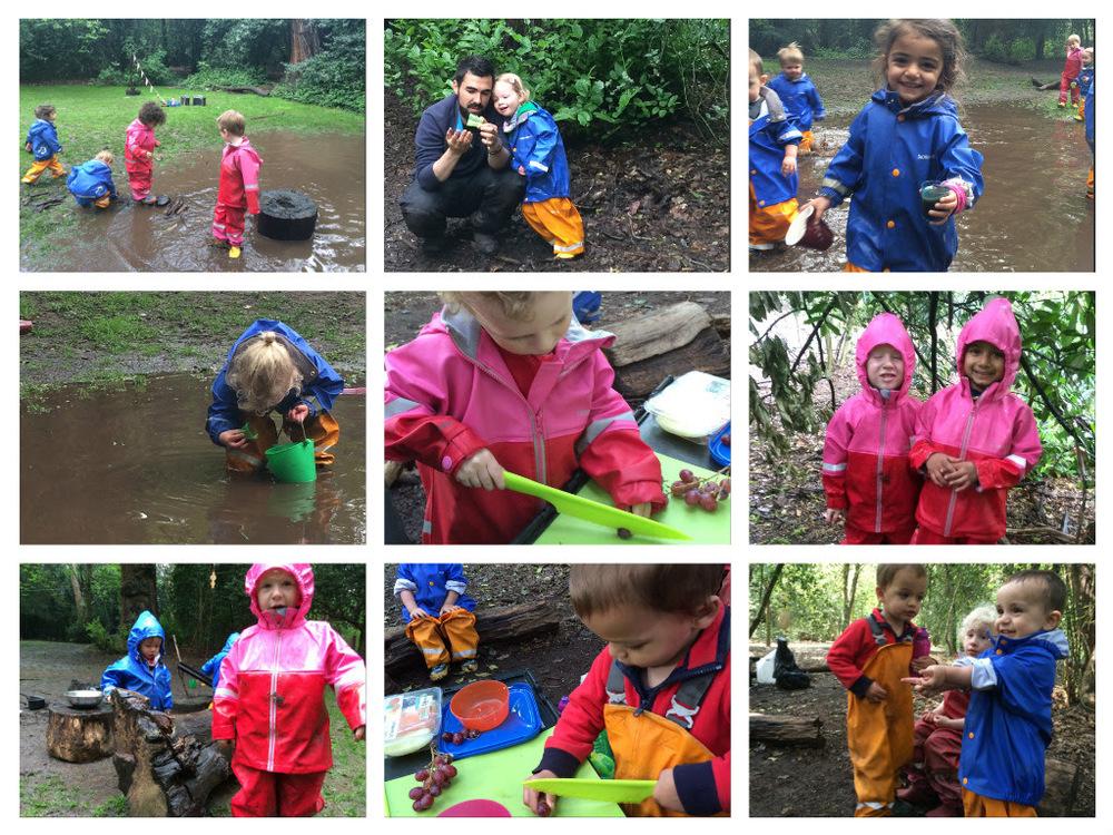 Rainy fun!