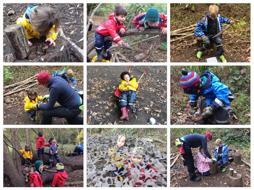 Busy Little Forest Folk :-)