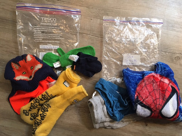 - Spares to be carried in their rucksack, in a waterproof bag and labelled. Bag 1 - spare trousers, underwear, jumper, Bag 2 – spare hat, gloves, socks.
