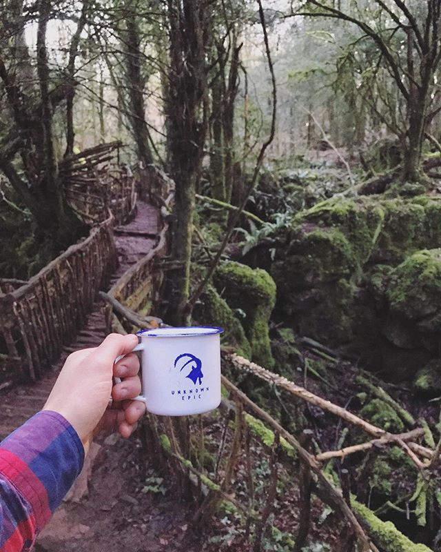 That time when we had an #epiccuppa in Takodana #starwars #theforceawakens 🚀☕️