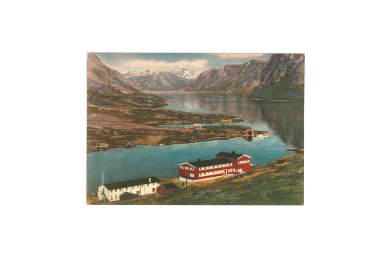 Postcard of Gjendesheim, near Besseggen