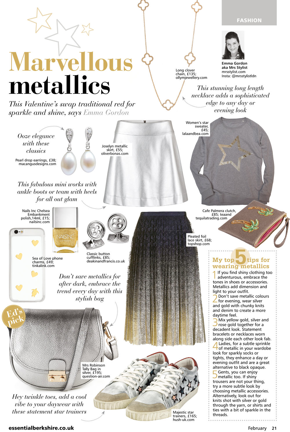 Marvellous Metallics Fashion Feb 2017 Sheengate Publishing.jpg