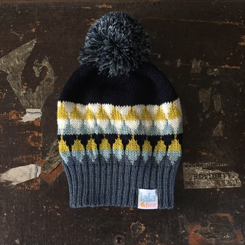 Merino wool bobble hat, Lala & Bea