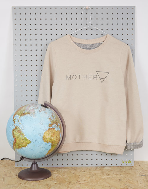 Lala & Bea organic cotton 'Mother Earth' sweatshirt, £45