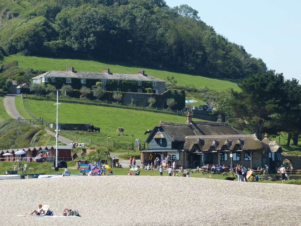 branscombe beach jurassic coast devon