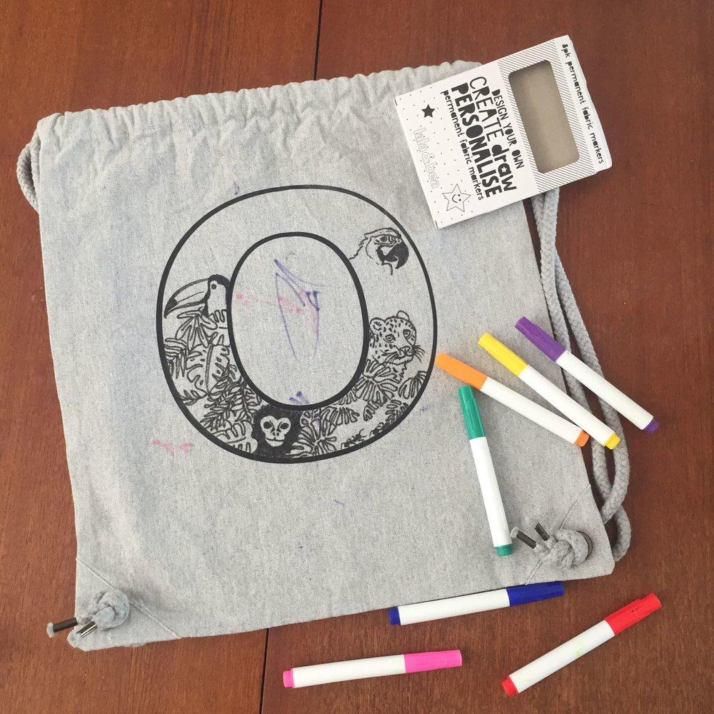 DYO personalised PE bag