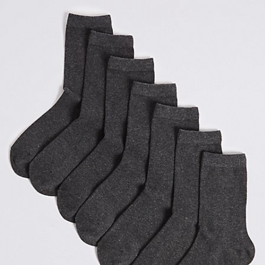 M&S set of 7 school socks