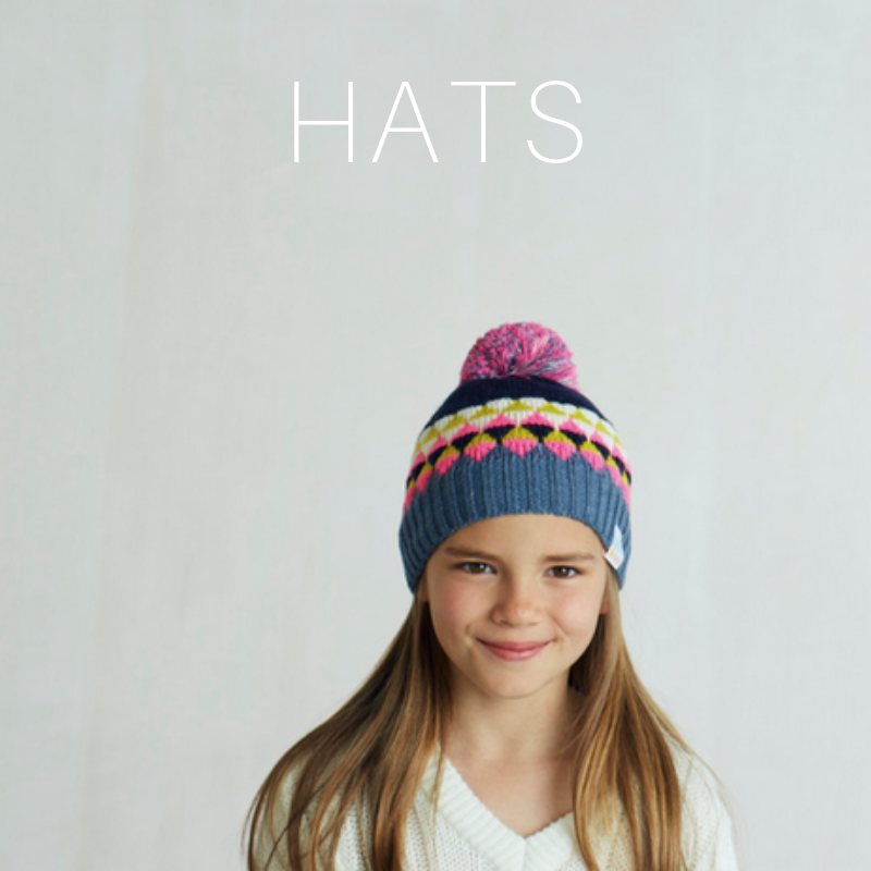 merino wool bobble hats for kids