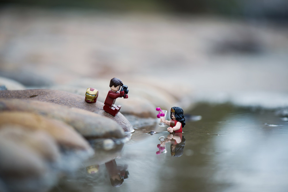 Vivid Content Marketing lego Ironman vacation