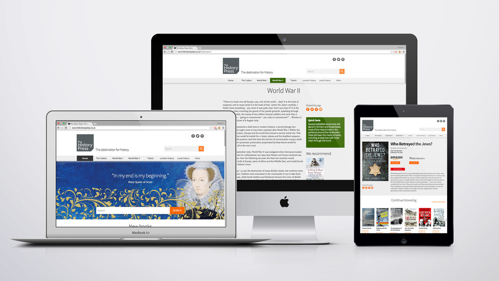 Responsive all-new design