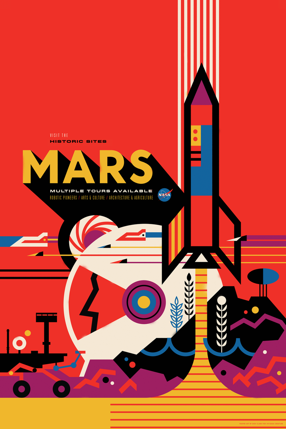Vivid Content Marketing NASA space tourism poster3
