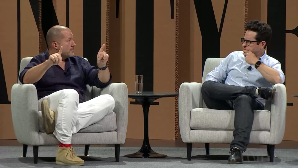 Vivid Content Marketing J.J. Abrams Jony Ive