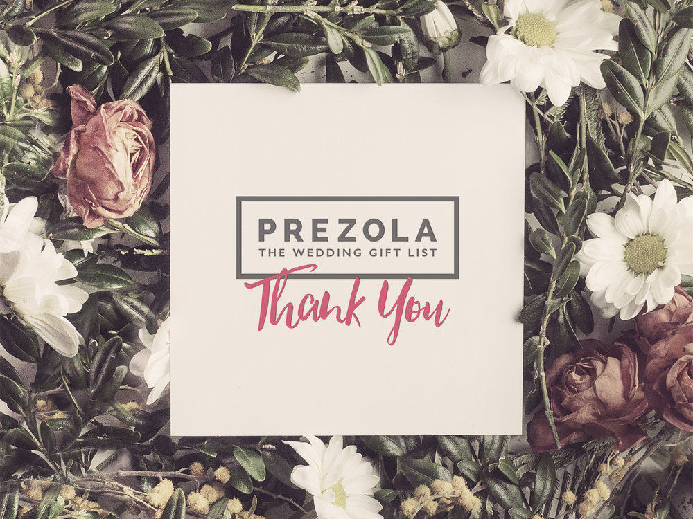 Prezola - The clever people at Prezola realised that creating a wedding list is a complicated feat. Their innovative service allows the betrothed  to create an online list in which they can choose from thousands of gifts, experiences and cash funds - so no one ends up with 17 toasters! We worked tirelessly to create a stunning online home for their amazing service, and some beautiful branding.