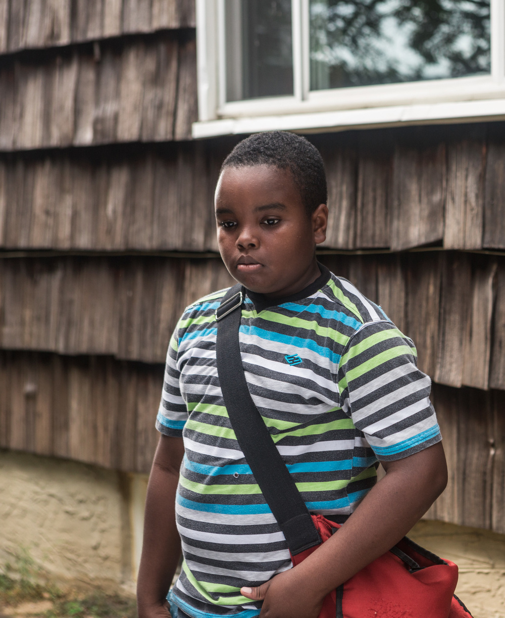 Maximus Britton plays the indefatigable Jamal, who is searching for answers