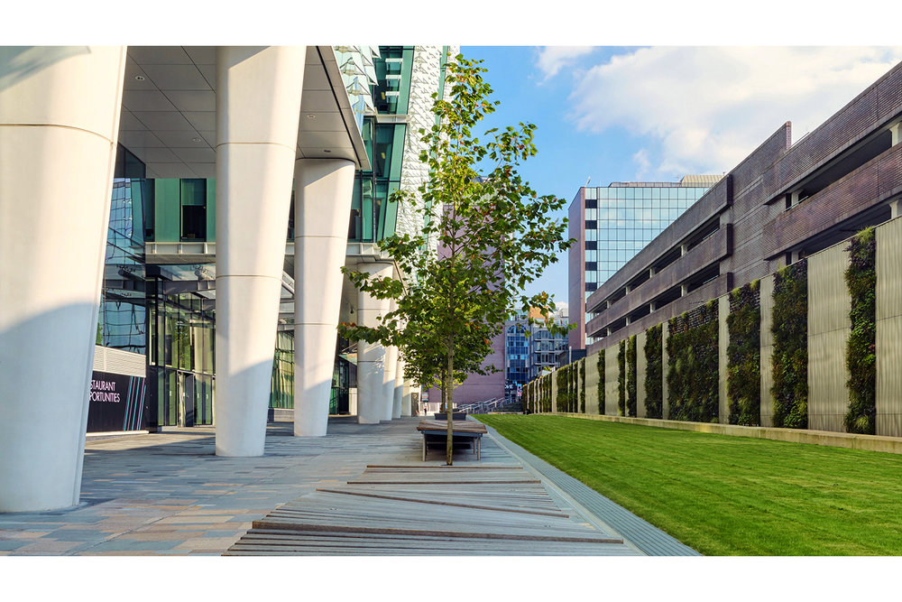 Architectural photography exterior: Snowhill One, Birmingham, Midlands, UK. Architects: Sidell Gibson Architects. Image (C) Matthewlingphotography.co.uk