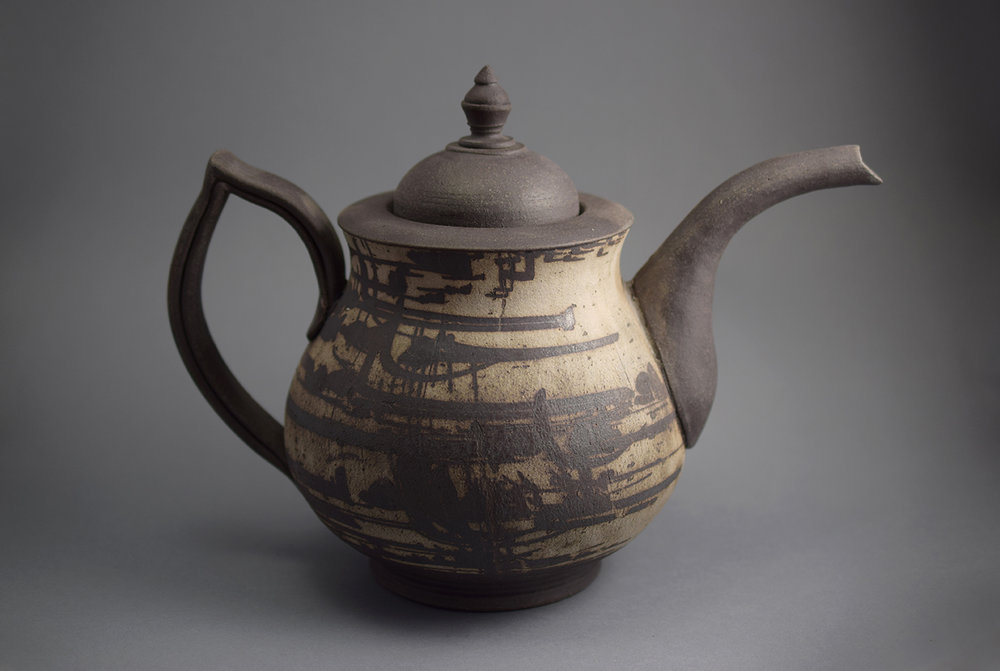 Contain and Serve Teapot