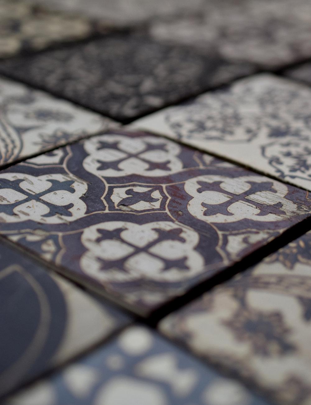 Variegated Tiles