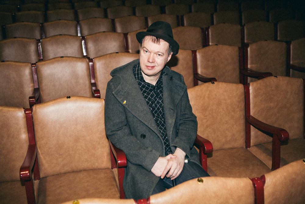 Edwyn Collins from Orange Juice recovered from a cerebral haemorrhage