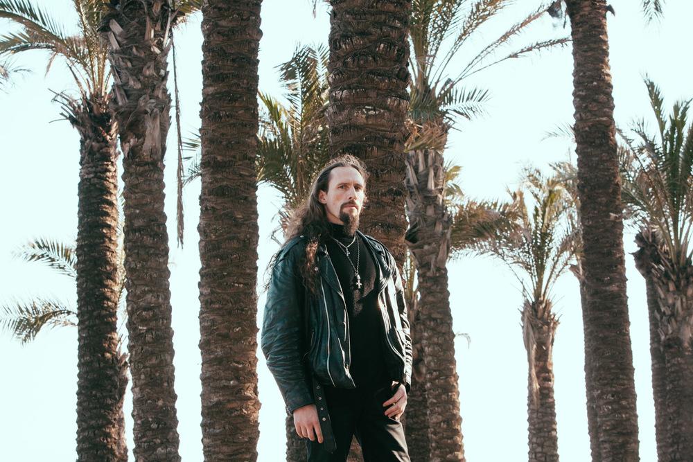 Kristian Espedal aka Gaahl in Torremolinos, Spain