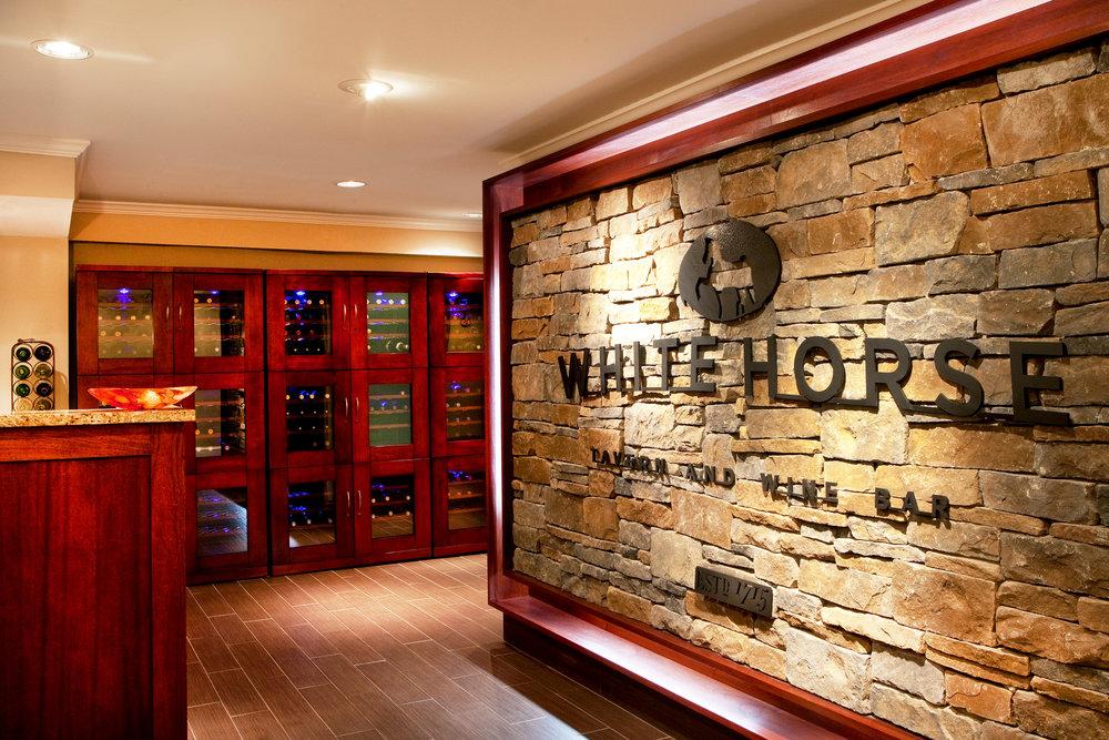 White Horse Restaurant Lobby and Wine Cellar.jpg