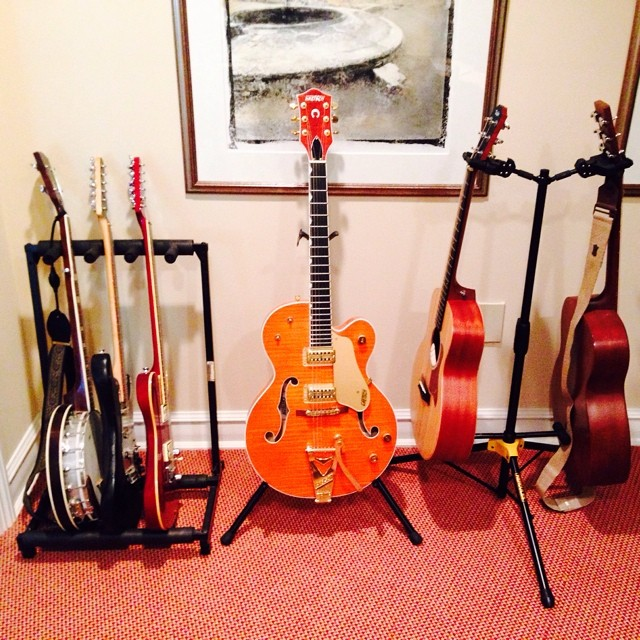 Guitars on #guitars #musicstudio