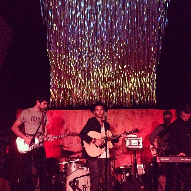 The death stare and good times @cameo_gallery #live #music #Brooklyn #harrowsounds
