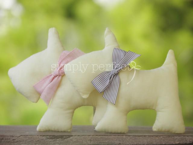 Μπομπονιέρα μαξιλαράκι-σκυλάκι: ΚΩΔ SC01