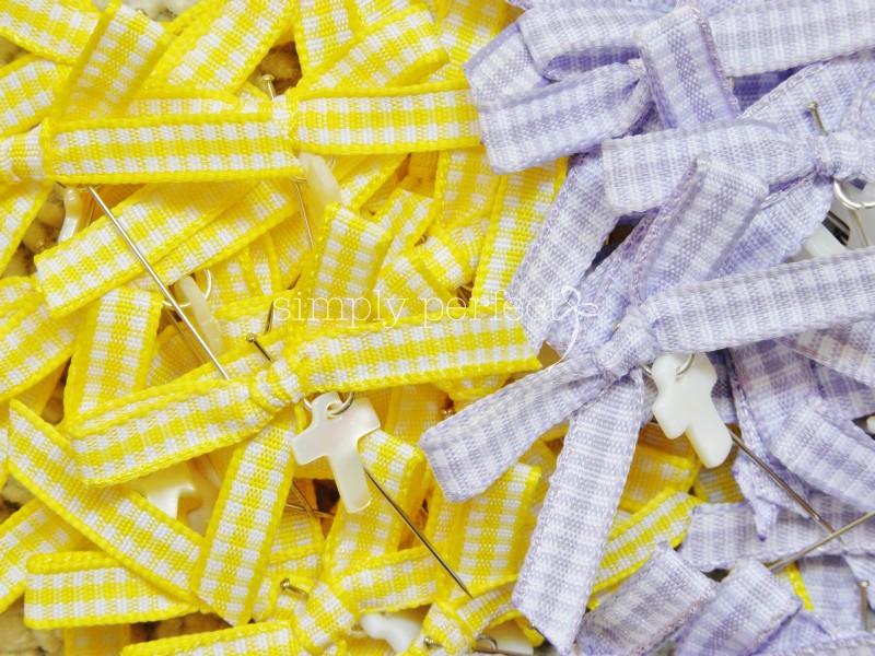 Μαρτυρικό καρφίτσα: ΚΩΔ KF17 (κίτρινο)   ΚΩΔ KF18 (λιλά)